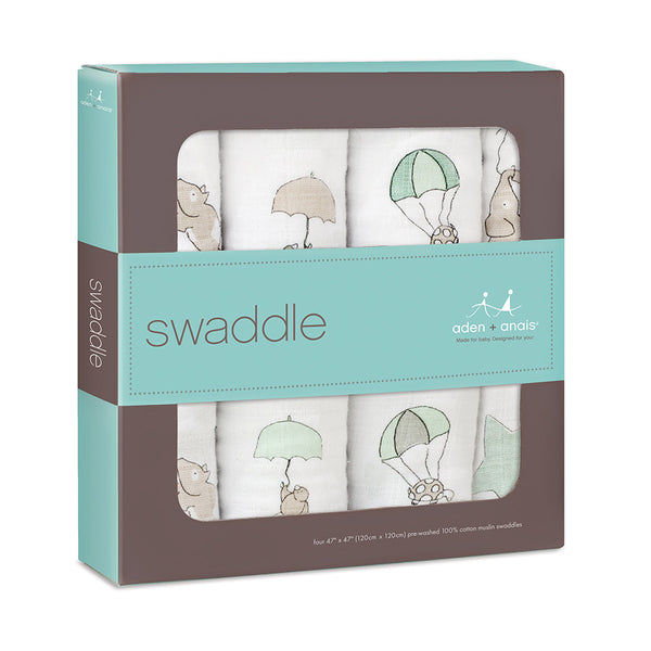 Aden + Anais - Up, Up, And Away Classic Swaddle 4 Pack