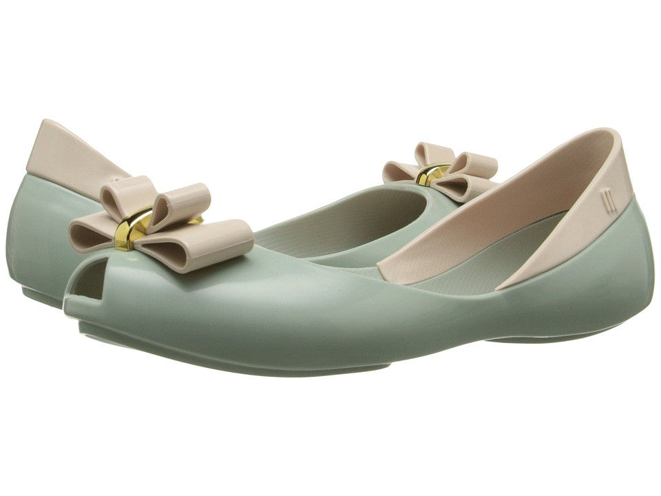 Mini Melissa Queen Green/Beige