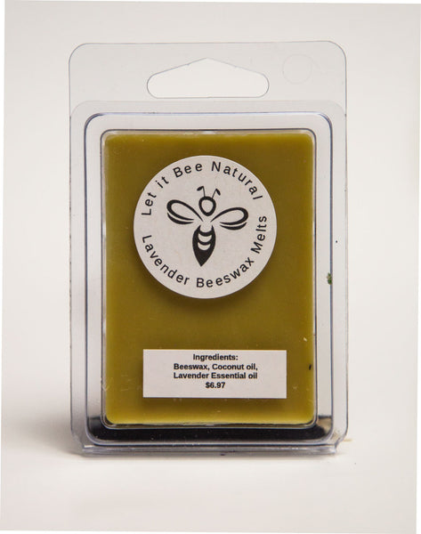 100% Pure Beeswax Melts