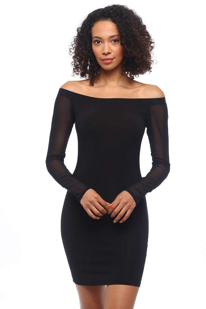 Black Slim Dress