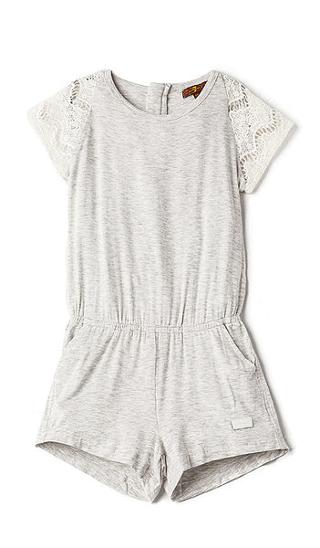 Heather Grey Romper