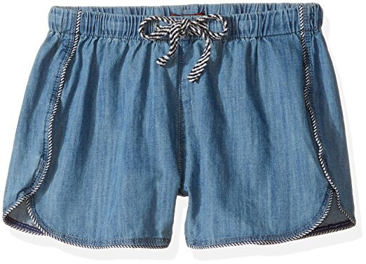 Chambray Pull On Shorts