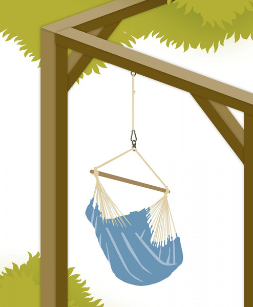 Suspension Set For Hammock Chairs & Joki Seguro