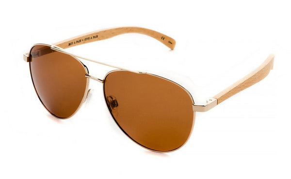 Amador; Gold/Brown Polarized BP10351