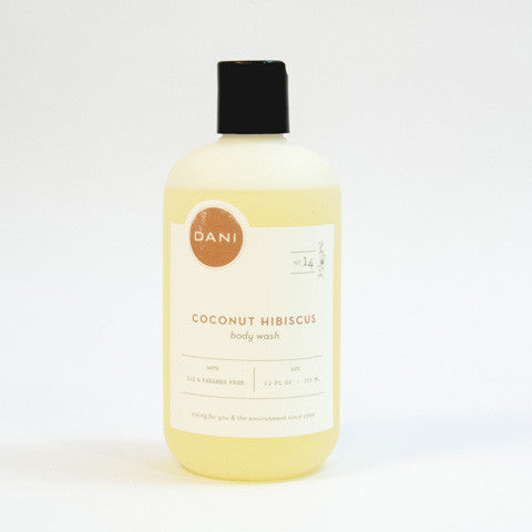 Coconut Hibiscus Body Wash