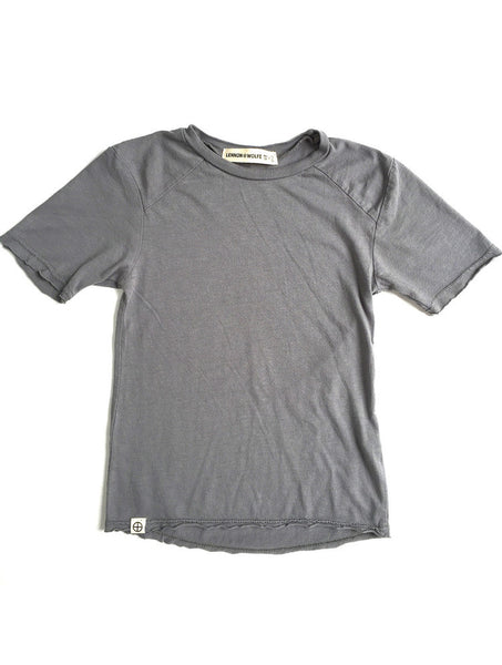 Lennon + Wolfe - Dylan Tee in Grey