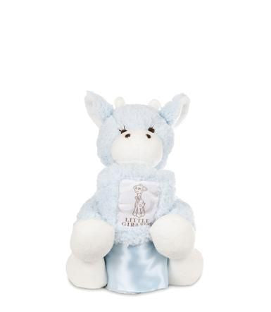 Little Giraffe - Chenille Plush Mini Blue