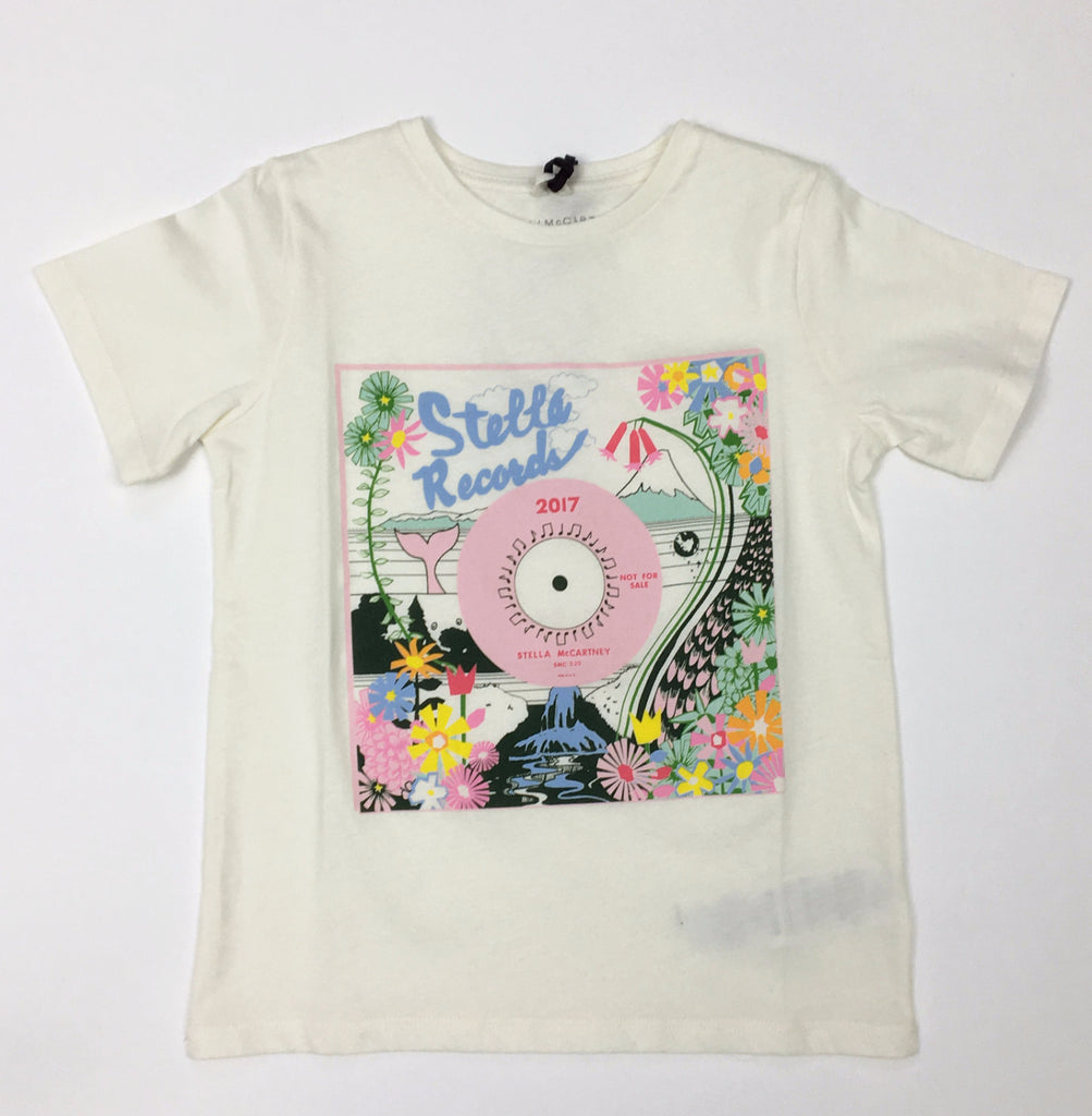 Arlow Girls Floral Stella Records Tee