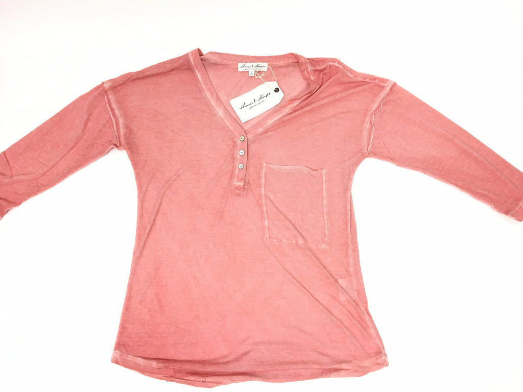 Coral Almond Ariana Top