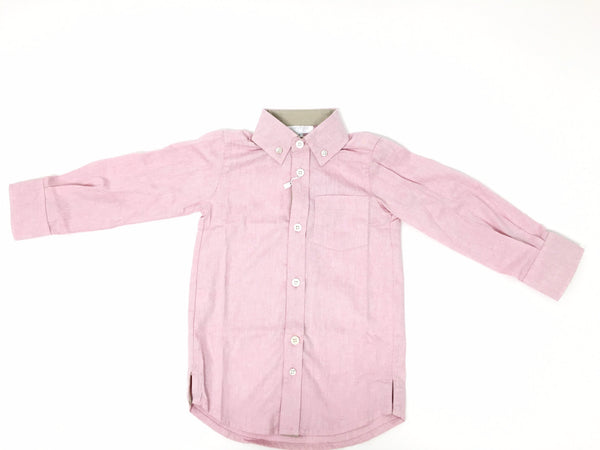 Red Long Sleeve Harrison Shirt