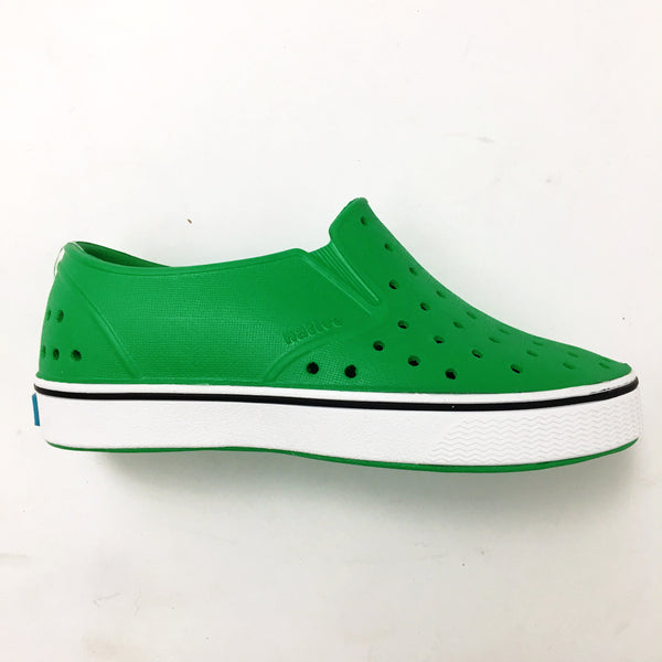 Miles Giant Green/Shell White Native Shoes