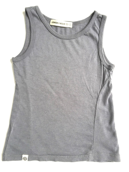 Lennon + Wolfe - Colby Tank Top in Grey