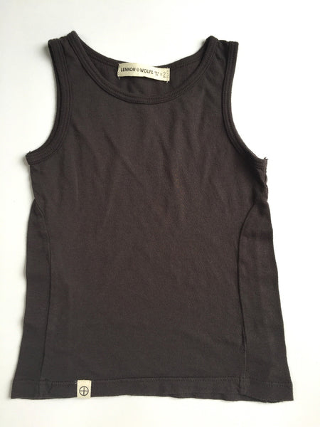Lennon + Wolfe - Colby Tank Top in Shadow