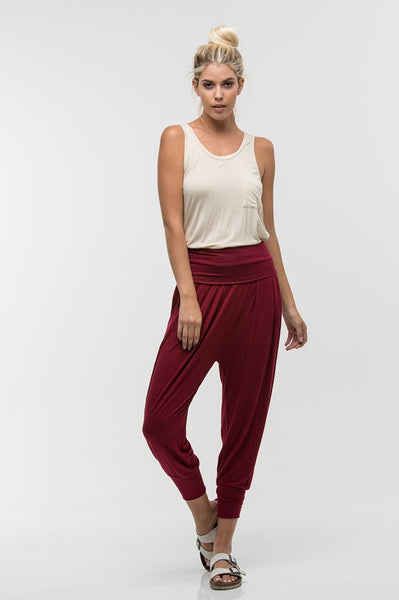 Piper Burgundy Pants