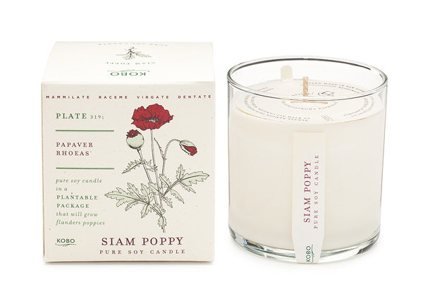 Siam Poppy Candle