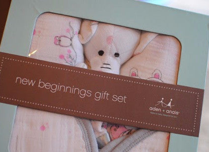 Aden + Anais - For the Birds New Beginnings Girl's Gift Set