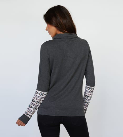 Threads for thought Aztec Pullover