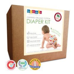 Organic Cotton Diaper Kit