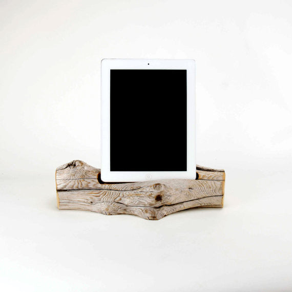 iPad Driftwood Docking Station