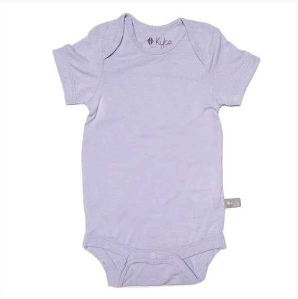 Layette Onesie in Lilac