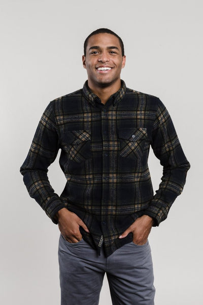 Lhotse Wool Plaid Button Down