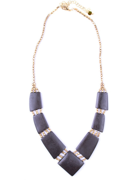 Archer Necklace Black