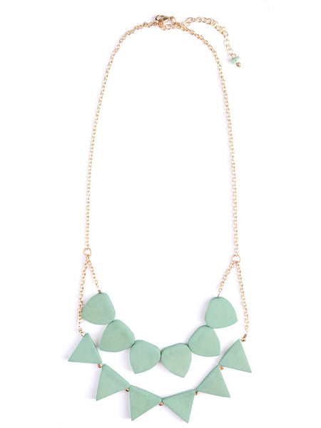 Rising Sun Necklace Mint