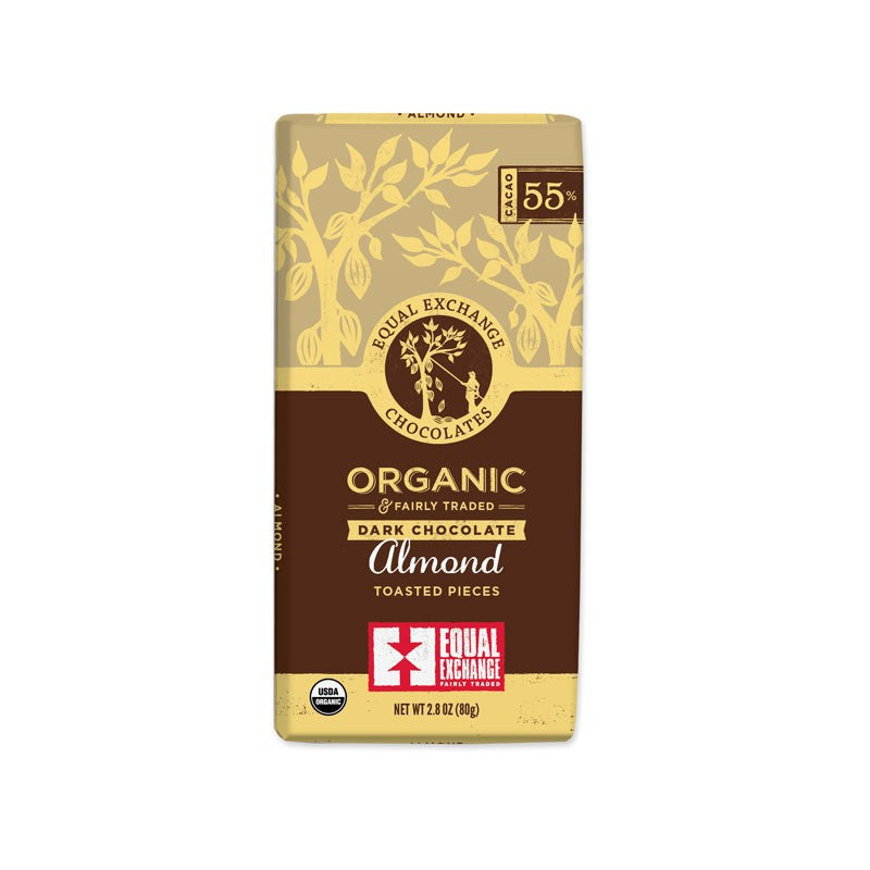 Organic Dark Chocolate Almond