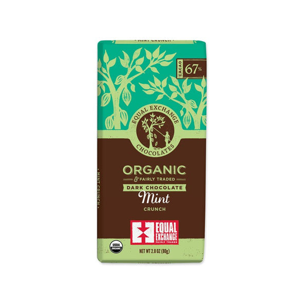 Organic Dark Chocolate Mint Crunch