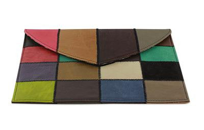 New Life- Recycled leather iPad sleeve