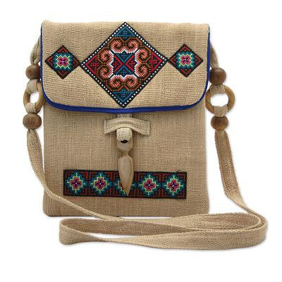 Miracle Earth- Embroidered Handbag