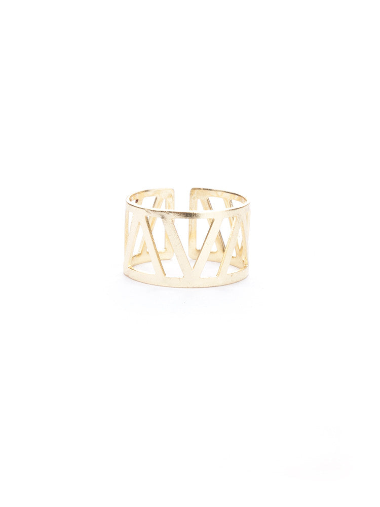 Mykonos Ring Gold