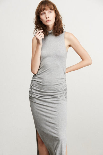 Amour Vert Heather Grey Taylor Dress
