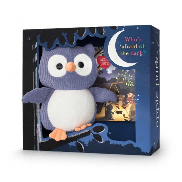 Who the Owl Gift Set-Navy