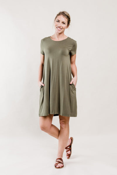 Olive Ridley Swing Dress