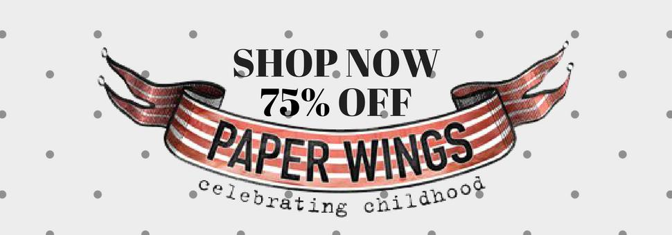SHOP PAPER WINGS