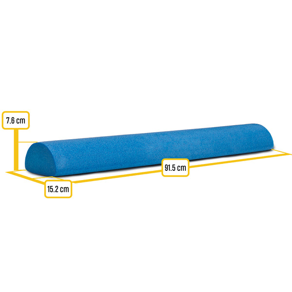 Body-Solid Tools Half Round Foam Roller BSTFR36H
