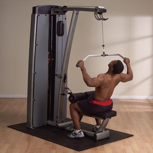 Body-Solid Pro-Dual Lat and Mid Row Machine DLAT-SF