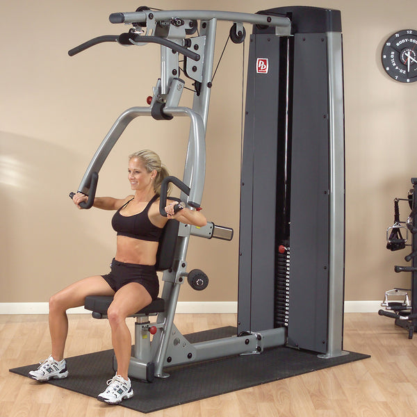 Body-Solid Pro Dual Vertical Press and Lat Machine DPLS-SF