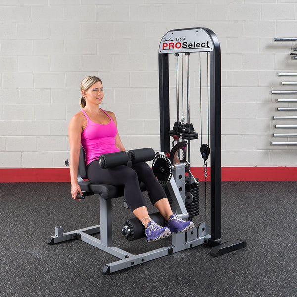 Body-Solid Selectorized Leg Ext. & Leg Curl Machine GCEC-STK