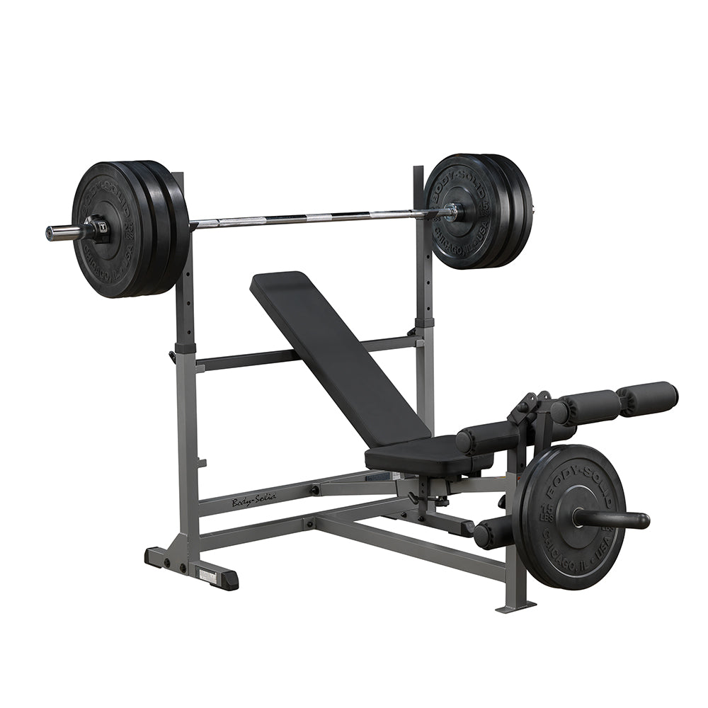 Body Solid Powercenter Combo Bench Gdib46l Europe Free Weights Gfid71