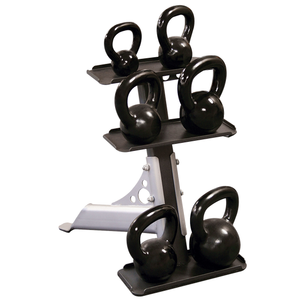 Body-Solid 3-Pair Kettlebell Rack GDKR50