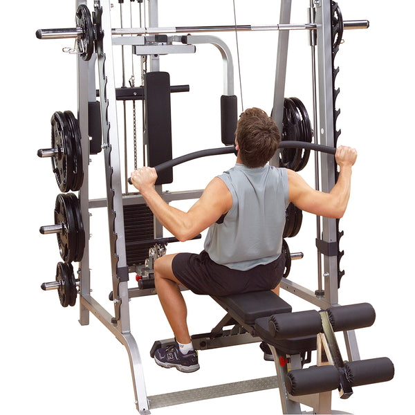 Body-Solid Lat Attachment for Smith machine serie 7 GS348 GLA348QS