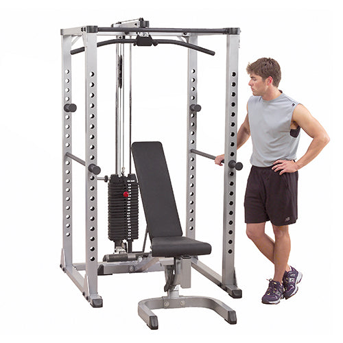 Body-Solid Power Rack Full option with bench GPR378FB