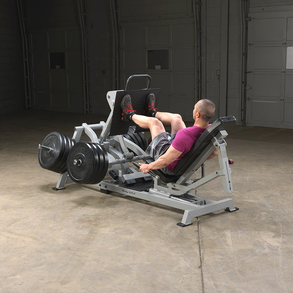Body-Solid Pro Club Line Leverage Horizontal Leg Press LVLP