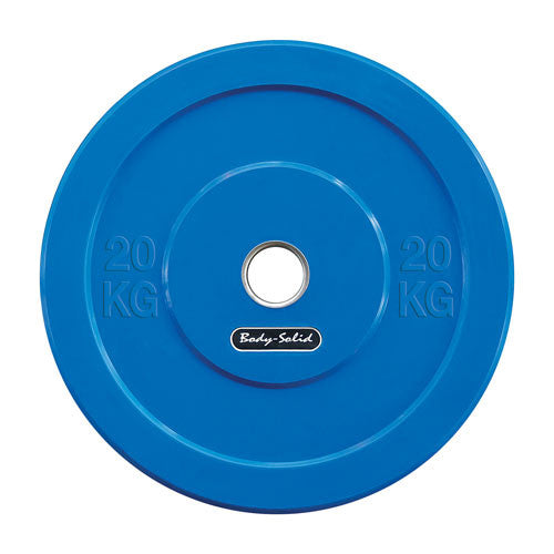 Body-Solid Olympic Rubber Bumper Plates OBPCK