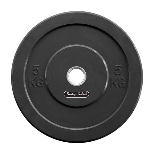 Body-Solid Colored Olympic Rubber Bumper Plates OBPCK