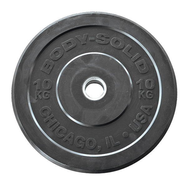 Body-Solid Chicago Extreme Olympic Bumper Plates OBPXK