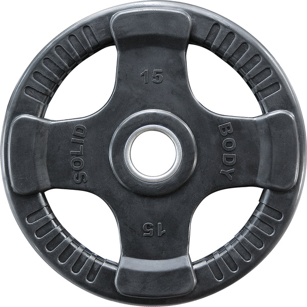 Body-Solid Rubber 4 Grip Olympic Plates ORTK