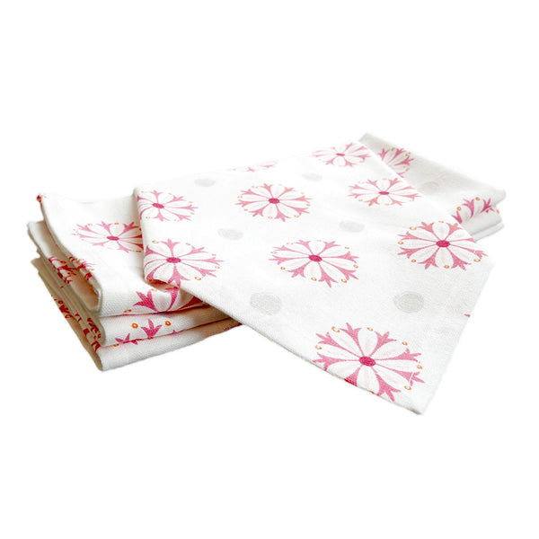 Pomegranate Medallion Napkins, Set of 4
